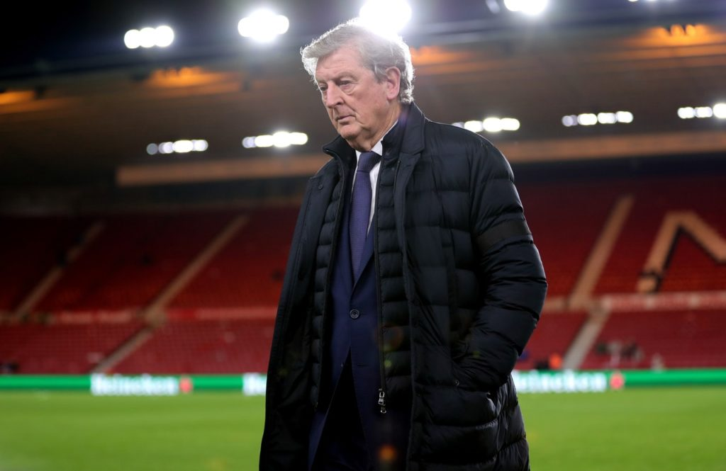 Crystal Palace boss Roy Hodgson has said the side must not change their approach for the forthcoming run of matches.