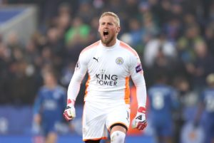 Leicester goalkeeper Kasper Schmeichel says he will have conflicted feelings about playing in Cardiff this week.