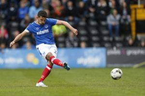 League One leaders Portsmouth maintained their impressive away record by grinding out a 2-1 success at Scunthorpe.