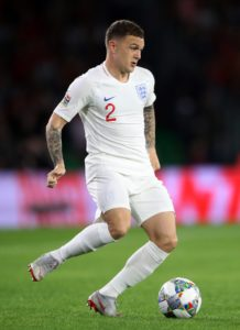 Tottenham right-back Kieran Trippier has withdrawn from the England squad for the matches against the United States and Croatia with a groin injury.