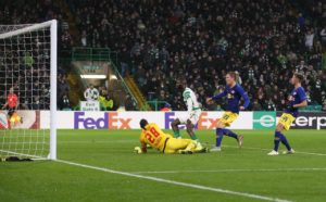 Odsonne Edouard gave Celtic a massive Europa League boost with a dramatic winning goal in the 2-1 victory over RB Leipzig at Parkhead.