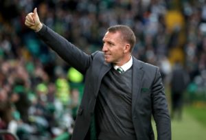 Celtic manager Brendan Rodgers says his Hoops side need to be positive in their clash with RB Leipzig.