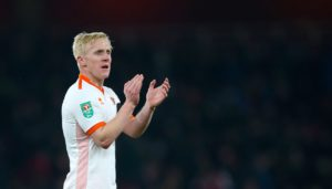 A ruthless first-half performance helped Blackpool to a 3-2 FA Cup first round win at Exeter.