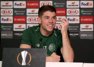 Celtic's Ryan Christie hopes to sign a new contract with the Parkhead club soon.