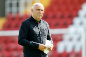 New manager Garry Hill will take charge of his first match when Ebbsfleet host Sky Bet League Two side Cheltenham in the FA Cup.