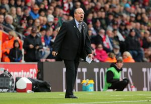 As Rafa Benitez continues to try and pilot Newcastle away from the drop zone, Matt Ritchie has hailed the coach's calmness.