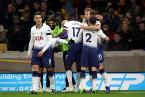 Tottenham boss Mauricio Pochettino has praised the character within his side as they fought out a 3-2 win over Wolves on Saturday.