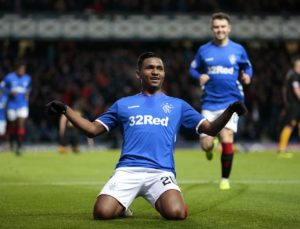 Alfredo Morelos came off the bench to finally see off the challenge of Livingston as Rangers moved second in the Ladbrokes Premiership with a 3-0 victory.