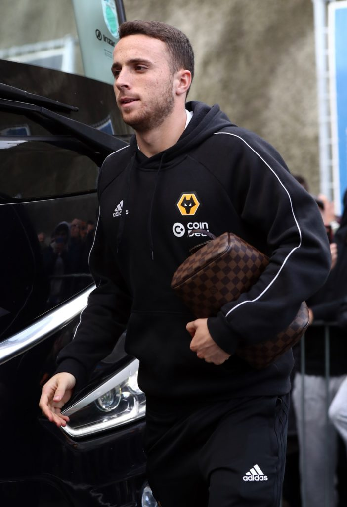 Midfielder Diogo Jota will boost Wolves' options when they travel to the Emirates to face Arsenal on Sunday.