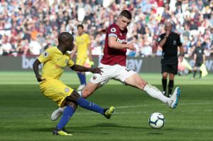West Ham are reportedly happy to delay contract talks with Declan Rice until the end of the season.