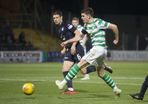 Midfielder Ryan Christie has agreed a new three-year contract with Scottish champions Celtic.