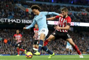 Manchester City winger Leroy Sane has rubbished claims that he could up sticks and join rivals Manchester United.
