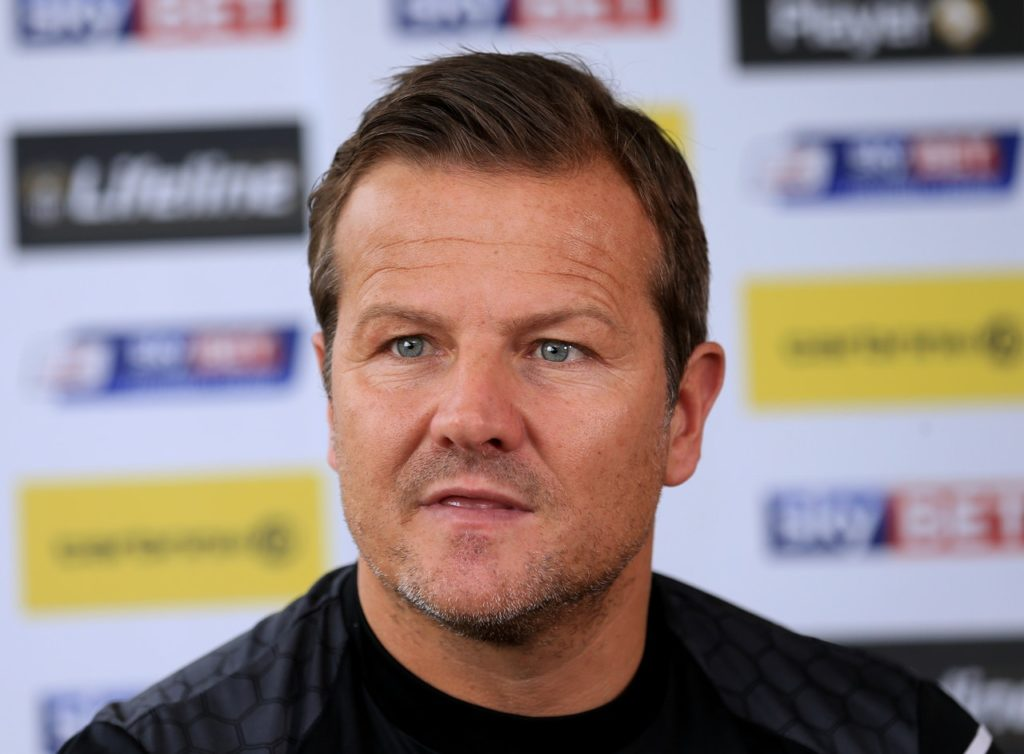 Forest Green manager Mark Cooper will check on Dayle Grubb before the FA Cup first-round replay against Oxford.