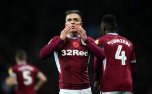 Jack Grealish scored his first goal of the season to pave the way for Aston Villa's 2-0 Sky Bet Championship win over struggling Bolton.