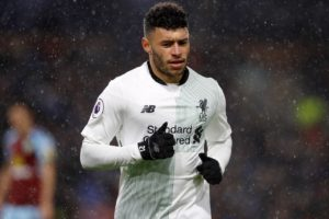 Liverpool midfielder Alex Oxlade-Chamberlain says he is hoping to return to action before the end of the season.