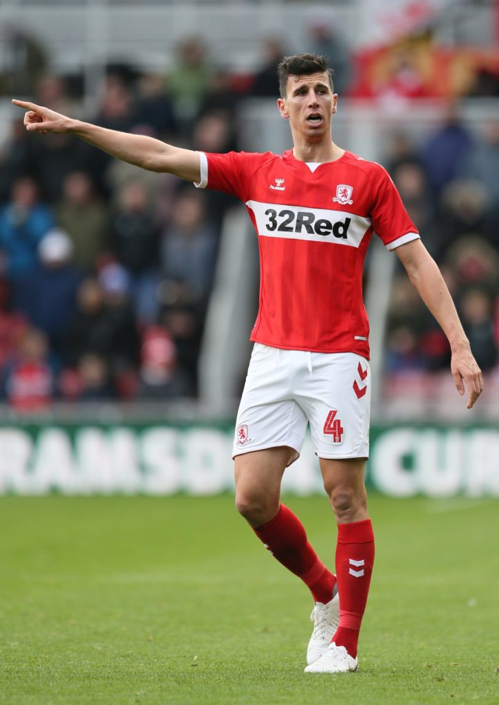 Daniel Ayala will return to the Middlesbrough squad for Saturday's Sky Bet Championship clash with Wigan.