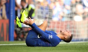 Eden Hazard admits he is starting to feel the effects after being on the receiving end of what he claims is rough treatment.
