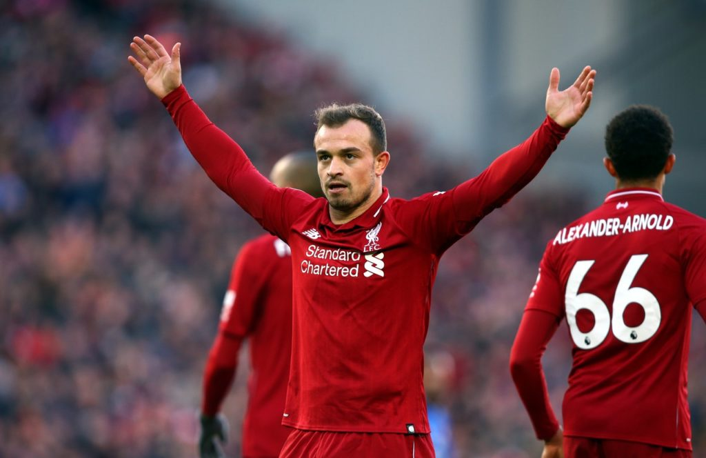 Liverpool are reportedly set to be contacted by Galatasaray in regards to a shock January loan move for Xherdan Shaqiri.