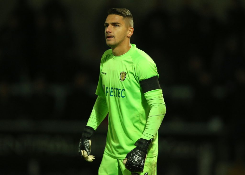 Burton have extended Dimitar Evtimov's contract for another two months.