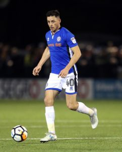 Ian Henderson's 62nd-minute header handed Rochdale a 1-0 win over former boss John Coleman and his Accrington Stanley side.