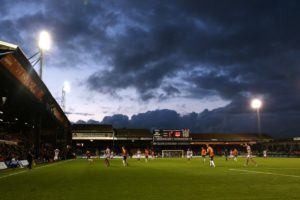 Police have been unable to identify Luton fans alleged to have racially abused an Accrington player last month.