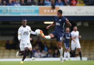 Southend ended a run of four successive League One defeats with a 2-0 victory against 10-man Scunthorpe United at Roots Hall.