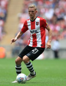 Exeter must do without suspended defender Dean Moxey for the FA Cup first-round tie against Blackpool.