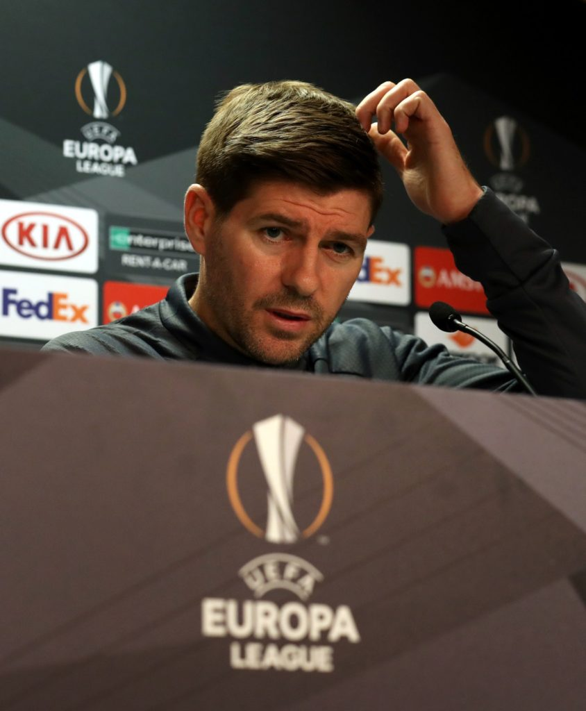Rangers manager Steven Gerrard blamed basic defensive errors after their unbeaten European record ended with a 4-3 defeat by Spartak Moscow.