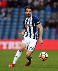 West Brom are likely to face a battle to keep hold of Jay Rodriguez in January with reports claiming Burnley are keen.