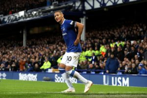 Everton star Richarlison has been tipped by Brazilian star Neymar to keep developing as a player and he is aiming to help him.