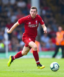 Liverpool defender Andy Robertson has been told he may have to switch from left-back to right-back to help out Scotland.