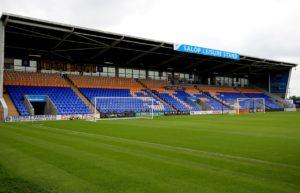 Goals in each half from Greg Docherty and Fejiri Okenabirhie sealed a 2-0 win for Shrewsbury against Plymouth.