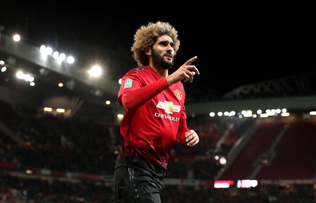 Marouane Fellaini believes Manchester United have a good opportunity to go on a winning run in their upcoming fixtures.