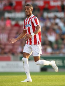 Stoke City's Tom Ince says he is making good progress from hernia surgery and is eyeing a return after the international break.