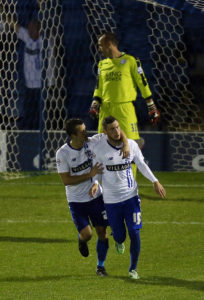 Bury cruised into the second round of the FA Cup as they saw off the Vanarama National League's bottom side Dover 5-0.