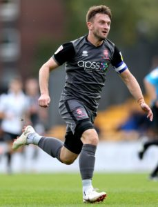 Lincoln continue to monitor captain Lee Frecklington ahead of their FA Cup second-round tie at home to Carlisle.