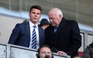 David Sharpe will step down as Wigan chairman once the takeover of the club is completed by International Entertainment Corporation.