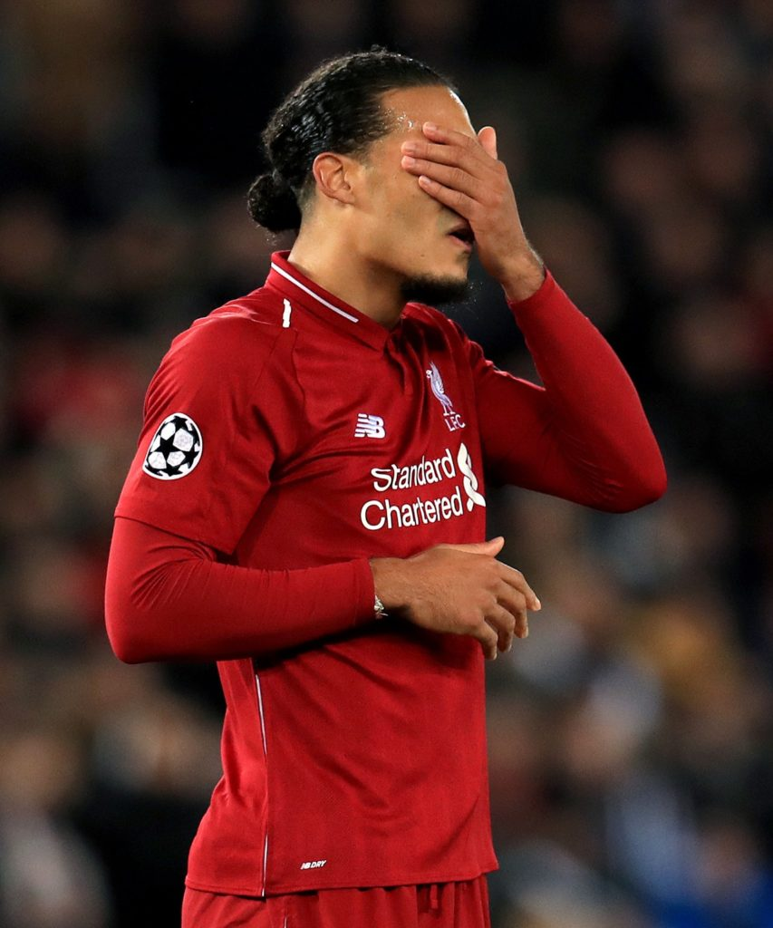 Virgil van Dijk says Liverpool must learn from their mistakes against PSG if they are to recover and progress in the Champions League.