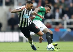 Jamaal Lascelles says he's not even contemplating the thought of relegation and he's sure Newcastle will stay up this season.