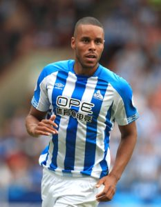 Huddersfield's Mathias Jorgensen said he realised a 'childhood dream' after captaining Denmark against the Republic of Ireland.