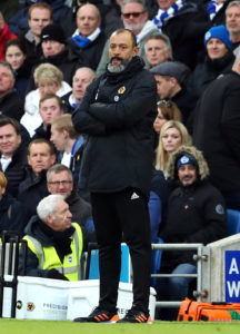 Nuno Espirito Santo has vowed to stick with his philosophy despite watching his Wolves side slip to a third successive defeat.