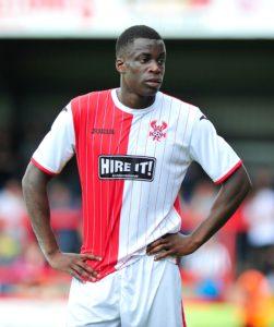Shrewsbury midfielder Arthur Gnahoua will join Vanarama National League side AFC Fylde on loan until mid-January.