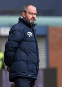 Kilmarnock manager Steve Clarke thought his side should have had a penalty as they fought out a goalless draw with St Johnstone at McDiarmid Park.