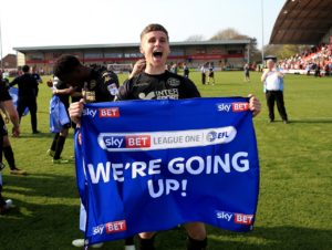Scunthorpe winger Ryan Colclough will not play again this season after rupturing a cruciate ligament.