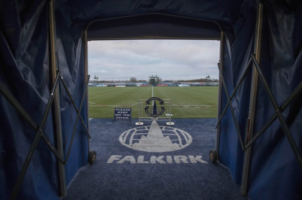 Falkirk are investigating reports of racist abuse directed towards Dennon Lewis by their own supporters.