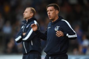 Bristol Rovers managers Darrell Clarke was relieved to avoid an increasing sense of dj vu as a second-half blitz gave them a comfortable 3-0 win at Blackpool.