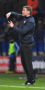 Bolton boss Phil Parkinson admits his side are waiting for their luck to change following their 2-0 defeat at Aston Villa on Friday.
