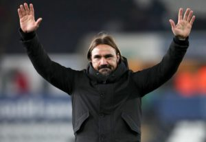 Norwich manager Daniel Farke wants his side to embrace their status as Championship front-runners.