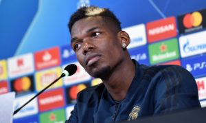 Paul Pogba allayed talk of a Manchester United exit as he prepares to face former club Juventus in the Champions League tonight.