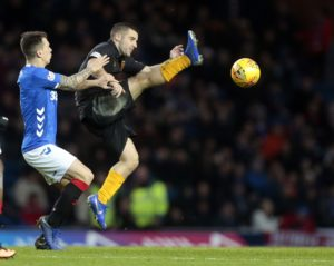 Livingston's striker curse has struck again after stand-in forward Scott Robinson was all but ruled out of the visit of Motherwell.
